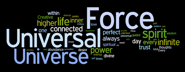 spiritual affirmations wordle