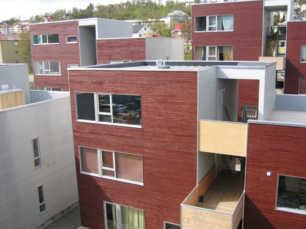 Strandkanten - 70ºN Arkitektur, Architecture, Housing