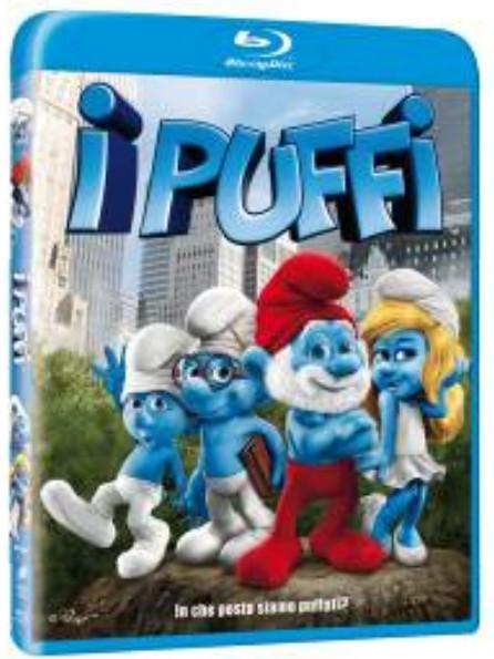 I  Puffi Blu-Ray Copertina