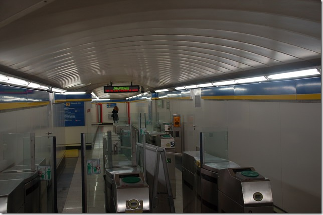 遥不可及的地铁站