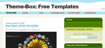 Theme-Box: Free Templates