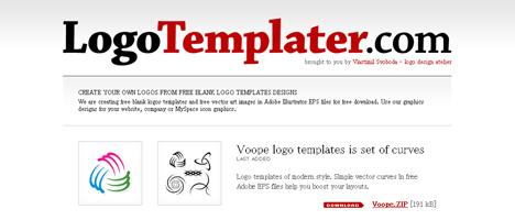 ロゴのテンプレートが無料で手に入るサイト