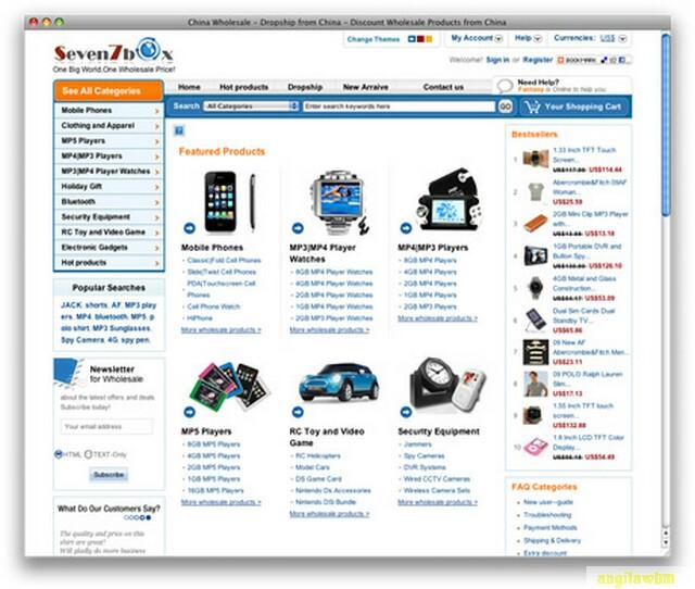 screen1 039 Páginas web para comprar barato en CHINA