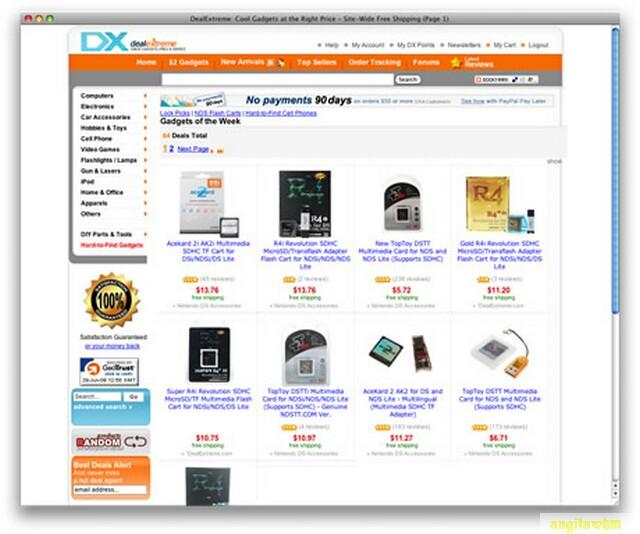 screen1 049 Páginas web para comprar barato en CHINA