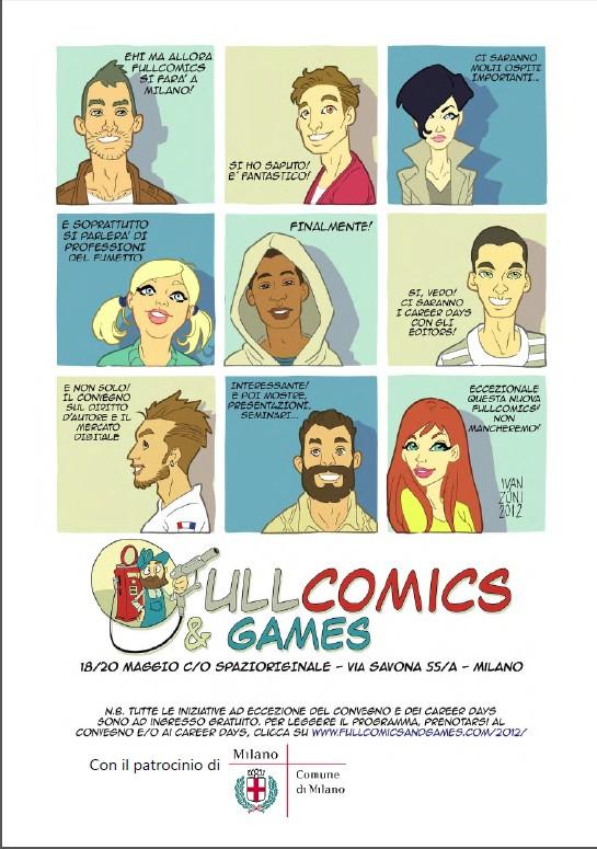 Fullcomics locandina
