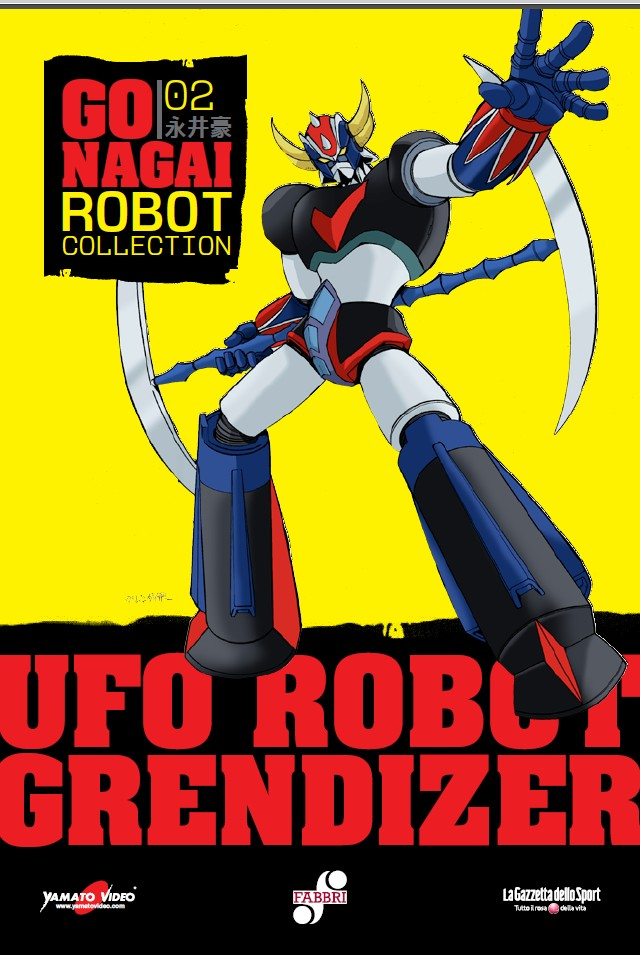 go nagai robot collection