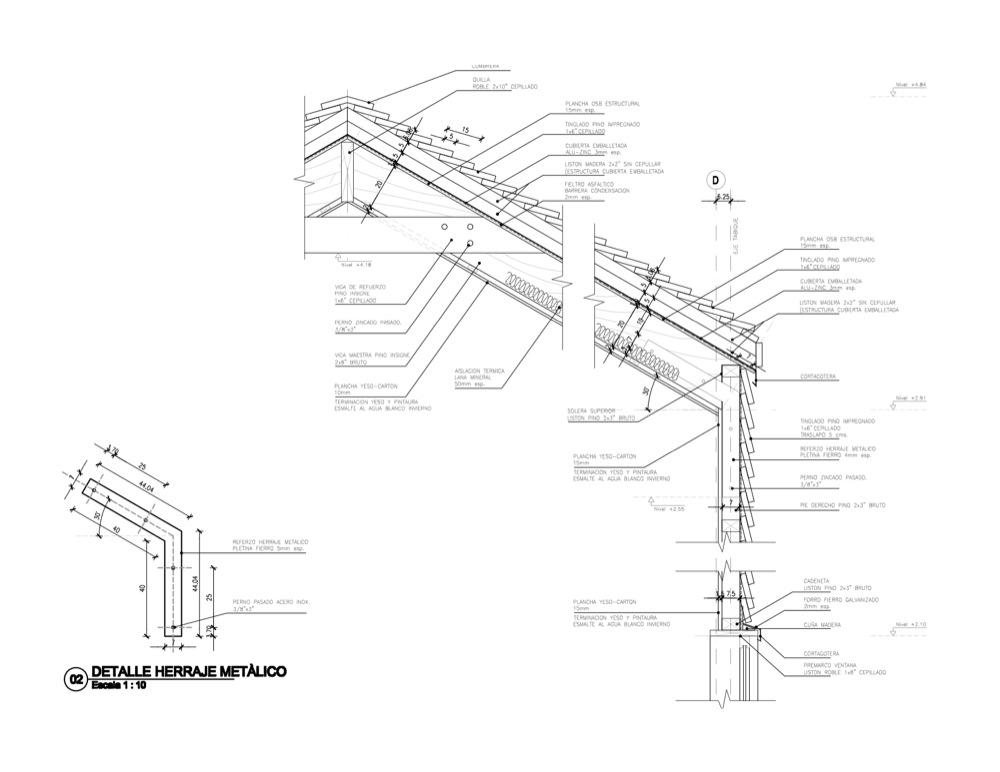 Cabaña Irma Cabezas - Diego Mendoza Valenzuela, Arquitectura, diseño, casas