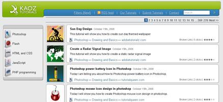 PhotoShopをはじめFlash、CSS、JavascriptなどのTipsまとめサイト