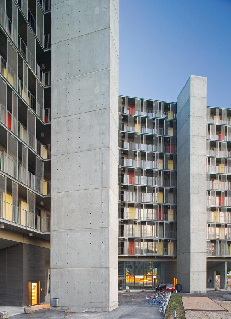arquitectura, vivienda-colectiva, diseño