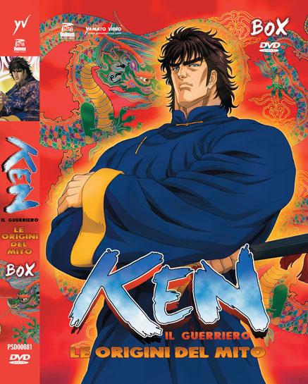 ken il guerriero le origni del mito dvd box yamato