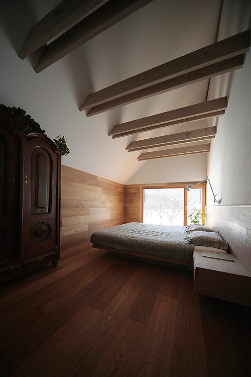 Cabaña-en-los-Alpes, OFIS, Arquitectura, Casas