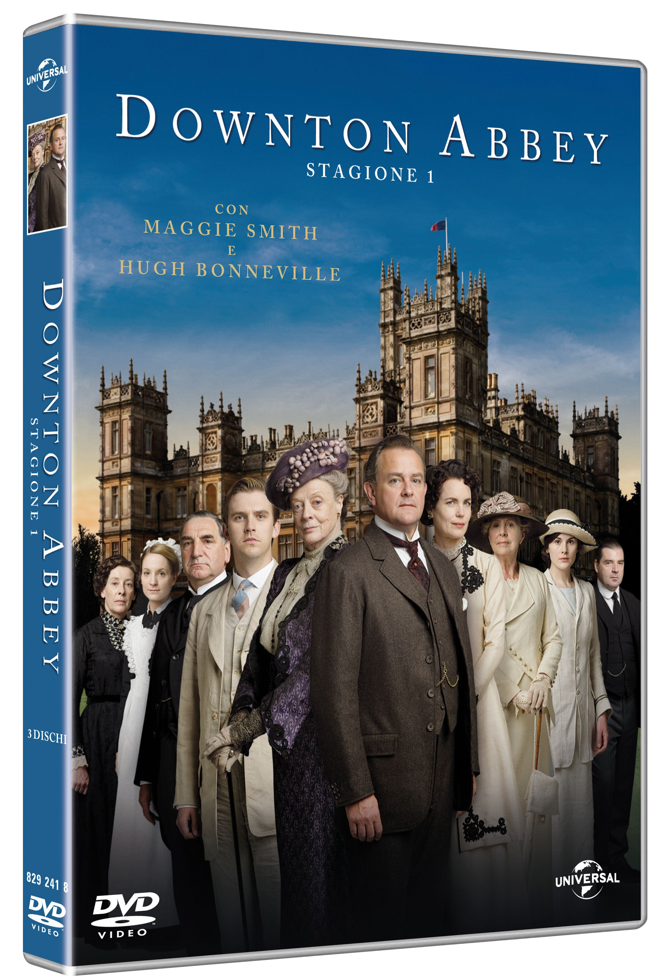 Downtown abbey stagione 1 dvd
