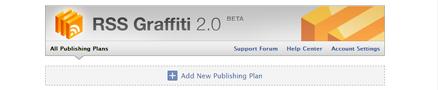 Add New Publishing Planをクリック