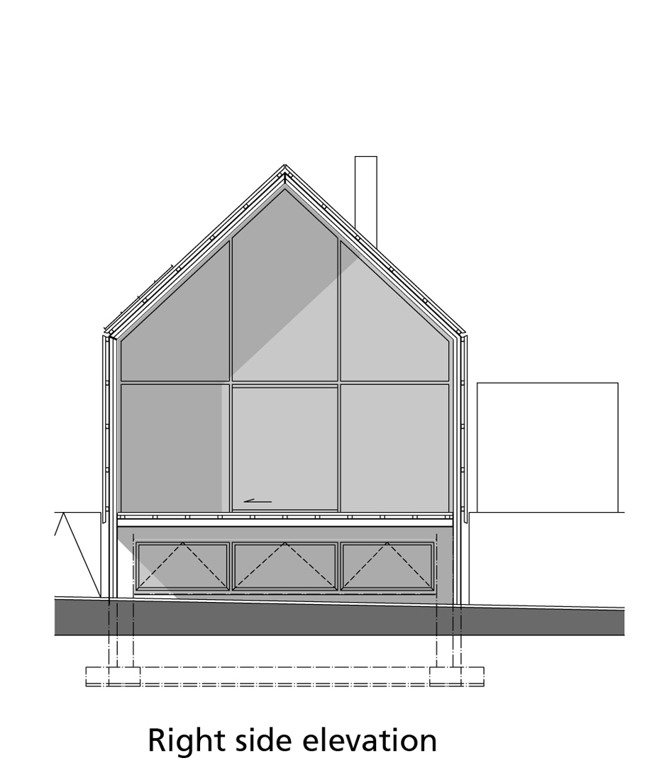 Casa-Granero, Buro-II, arquitectura, casas