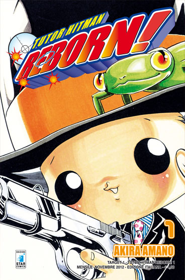 Tutor Hitman Reborn 1 Star Comics