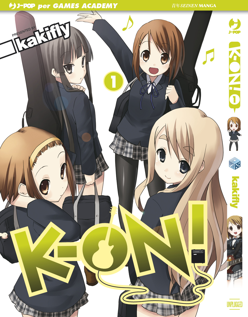 K-On variant cover Games Academy