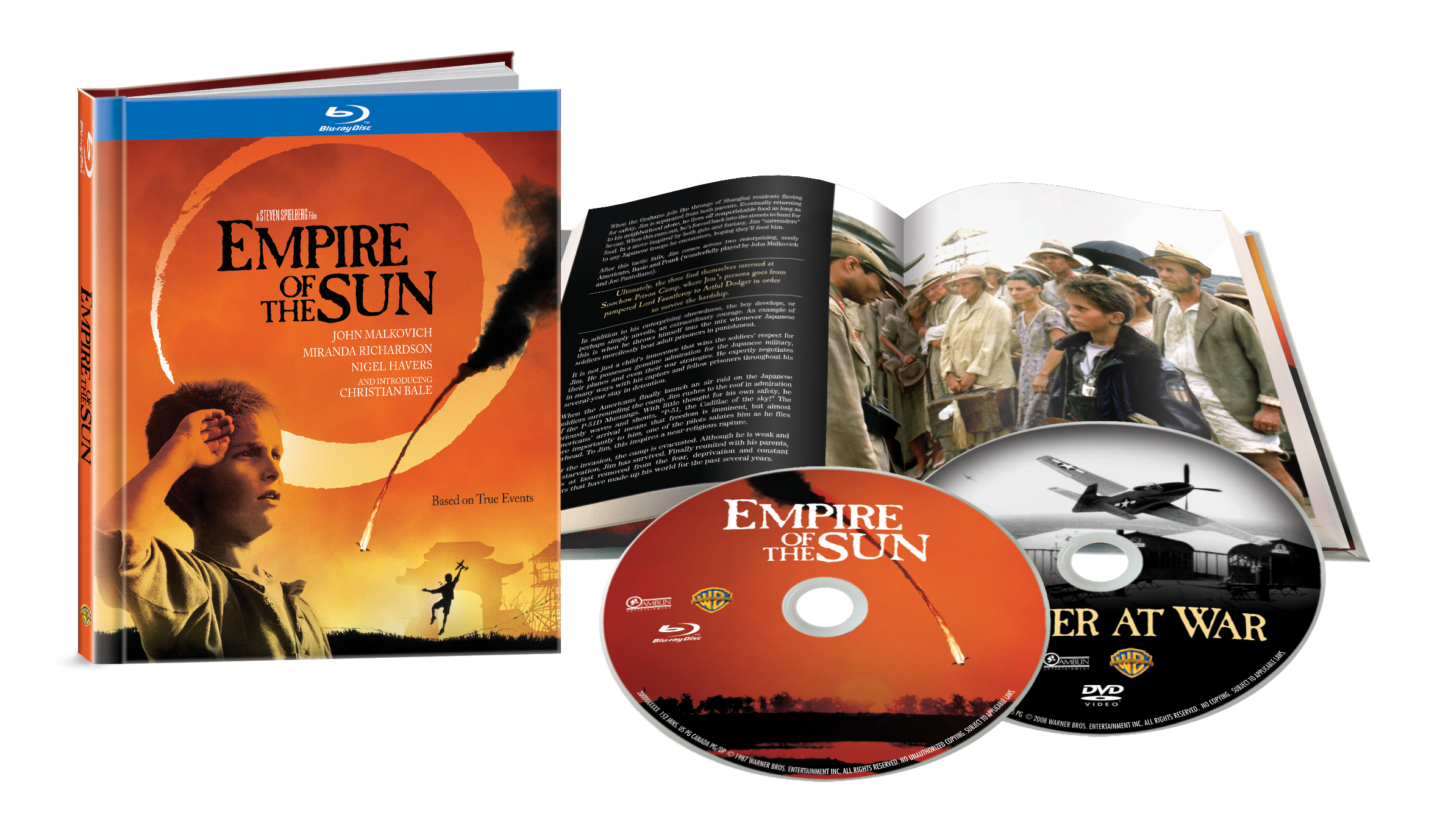L'impero del sole blu-ray digi book