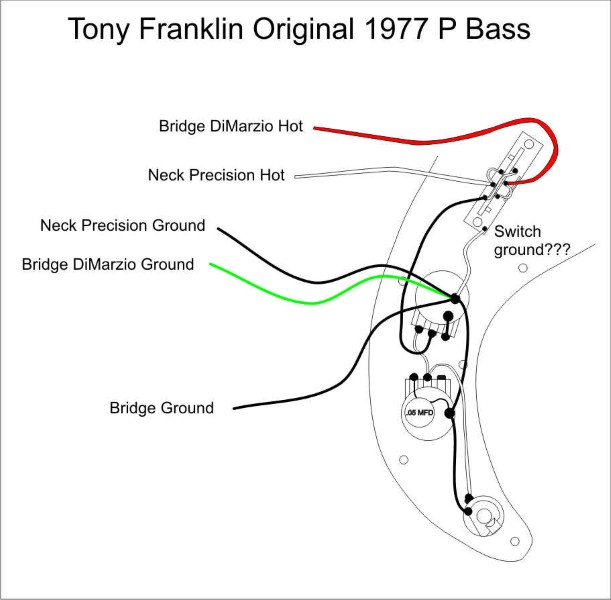 tony franklin bass schematic talkbass com current fender model from tb post