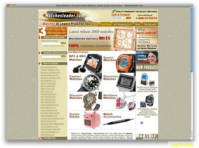 screen1 072 Páginas web para comprar barato en CHINA