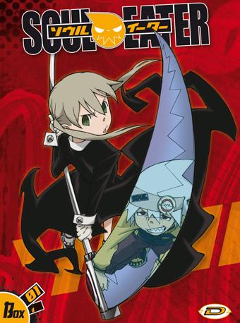 Soul Eater DVD Box Copertina Dynit