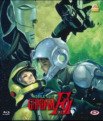 Gundam F91 Blu-Ray cover
