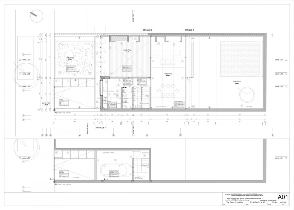 Vivienda CC3660 - Cardoso + Zúñiga, Arquitectura