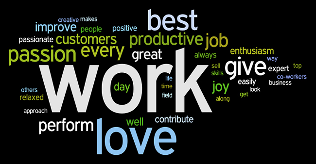 work affirmations wordle