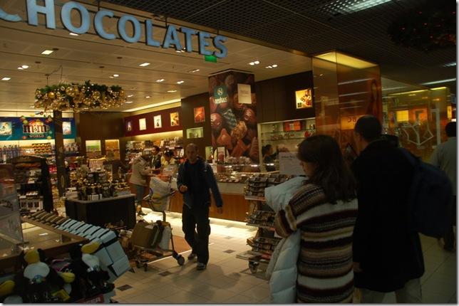性都机场巧克力店