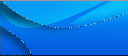 下の円弧にソフトな黒ブラシ