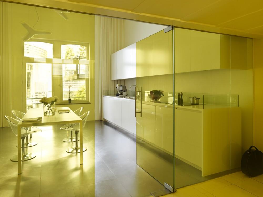 Baño Pintado De Amarillo:Glass Door Kitchen Designs