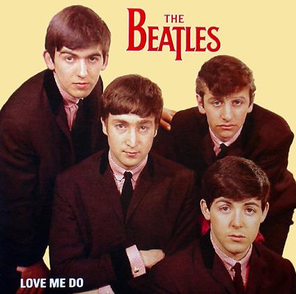Beatles Love me do
