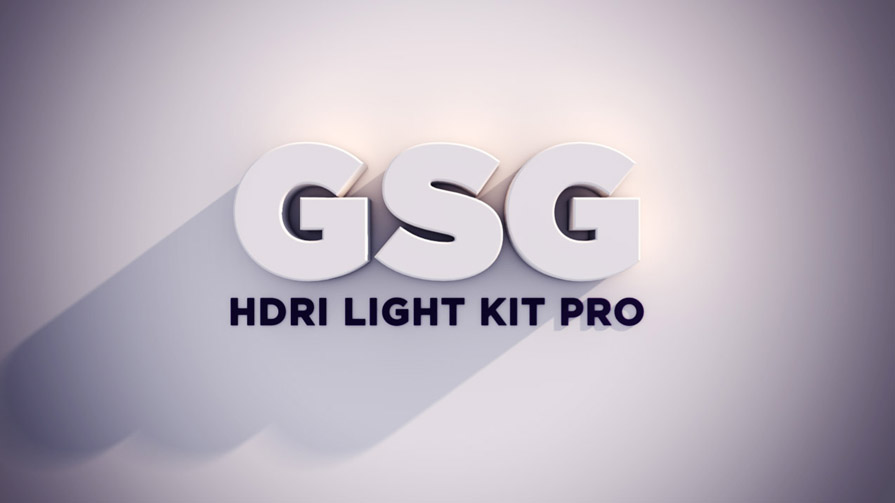 GSG Light Kit Pro 2.0 for Cinema 4D 灯光插件