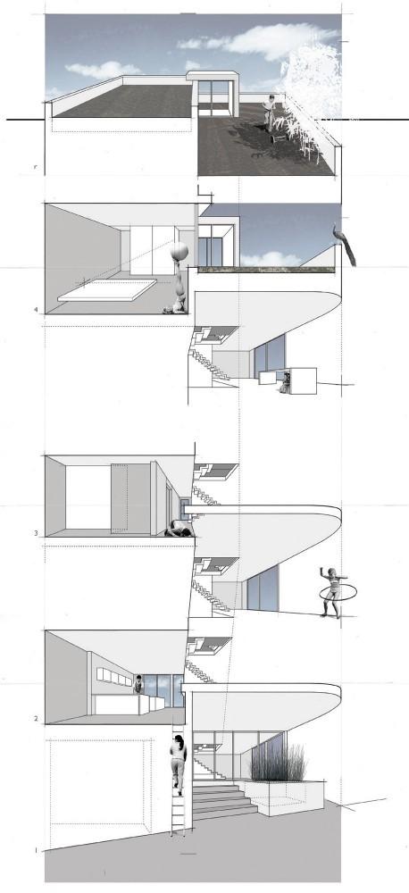 Split Level House - Qb Design