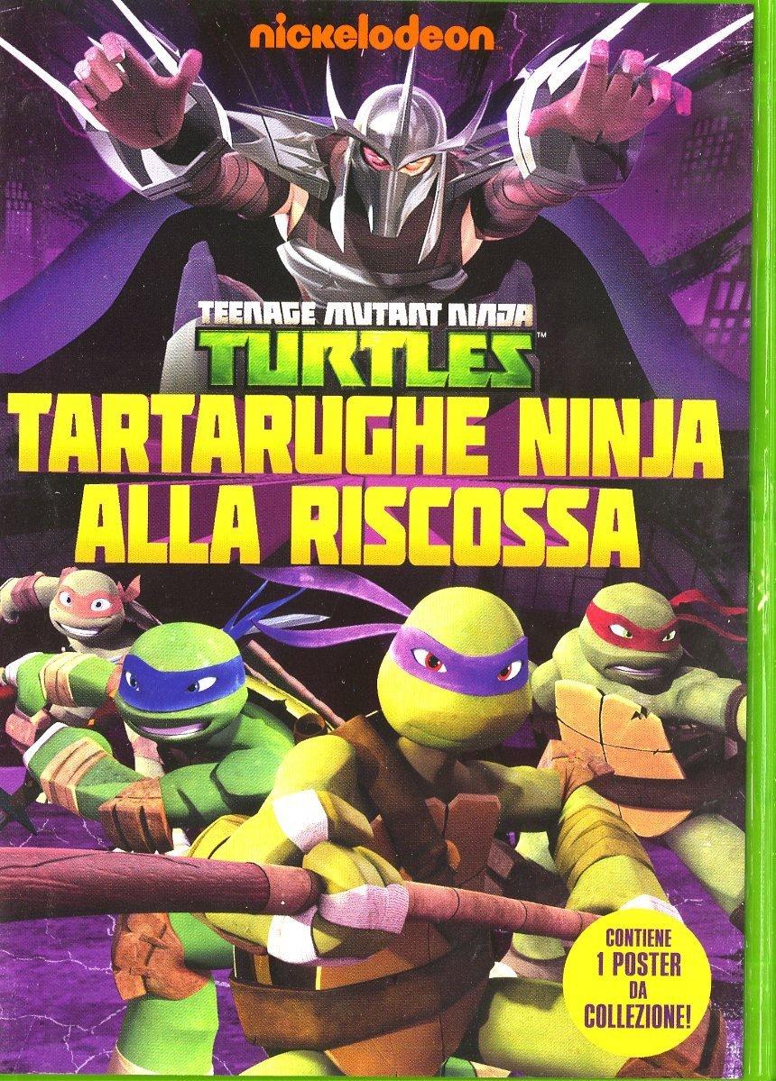 tartarughe ninka alla riscossa dvd
