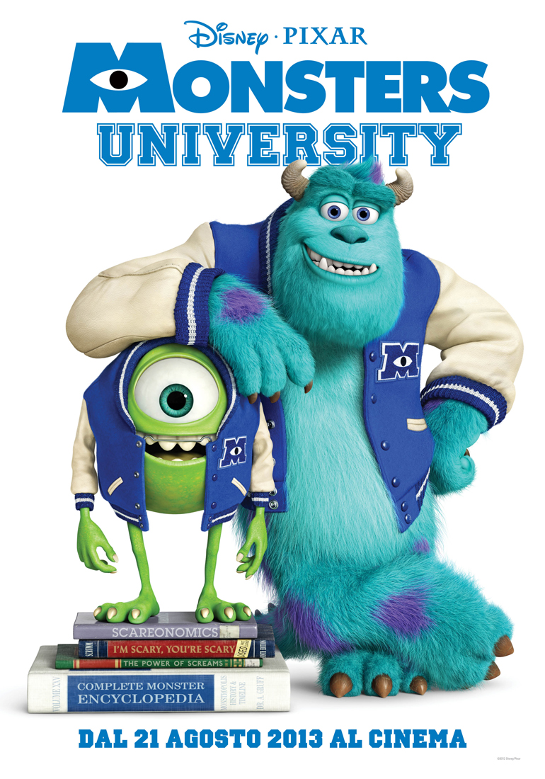 Monster University teaser poster ita