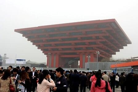 上海世博試營運搶先體驗