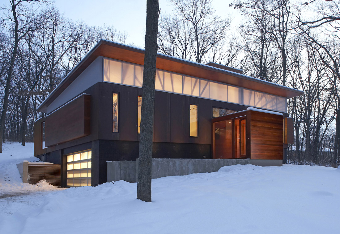 Architecture, Design, House, Interiors, Ferrous-House, Johnsen-Schmaling-Architects