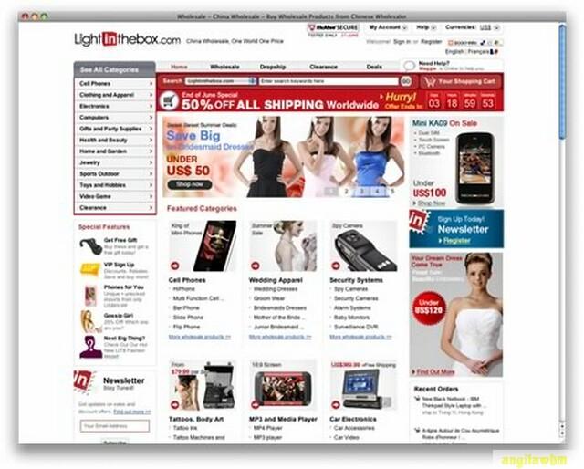 screen1 066 Páginas web para comprar barato en CHINA