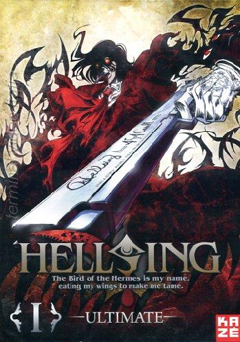 Hellsing Ultimate DVD Kaze