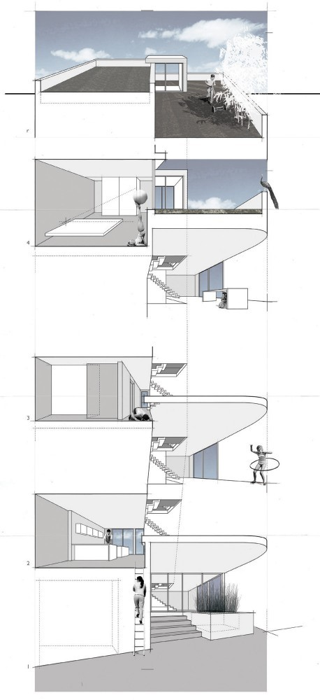 Split Level House - Qb Design