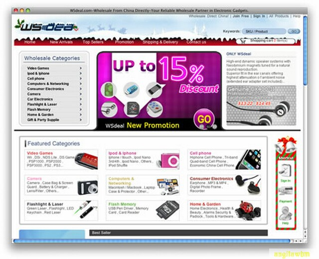 screen1 068 Páginas web para comprar barato en CHINA