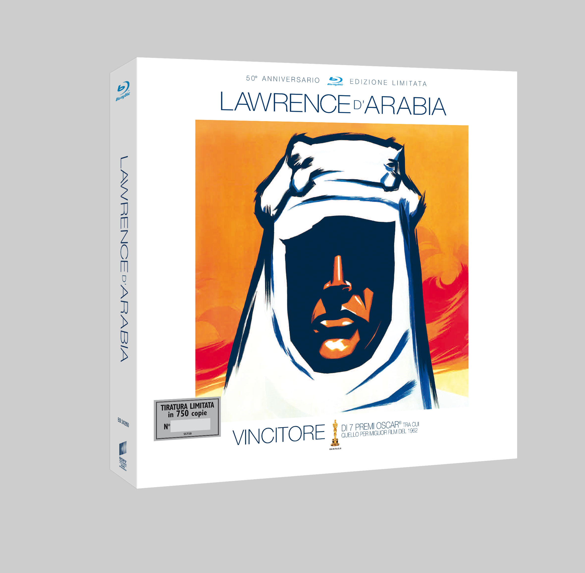Lawrence d'arabia limited edition blu-ray