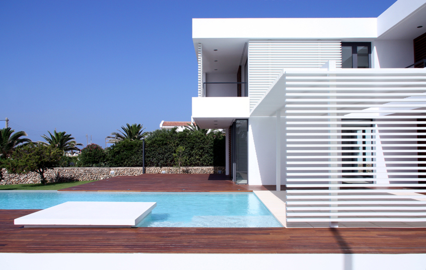 Casa en menorca dom arquitectura tecno haus - Casas en menorca ...