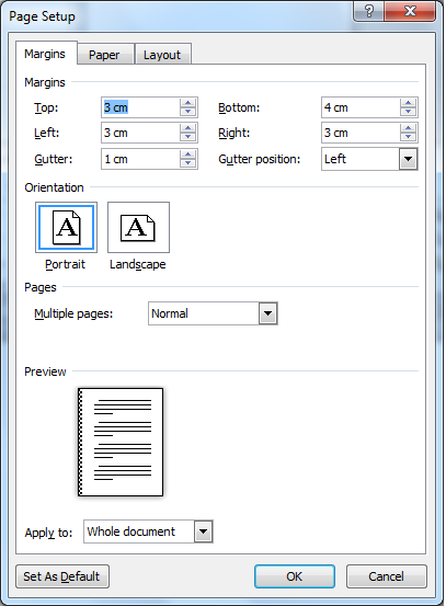 Microsoft Office Word: Membuat Dokumen Baru