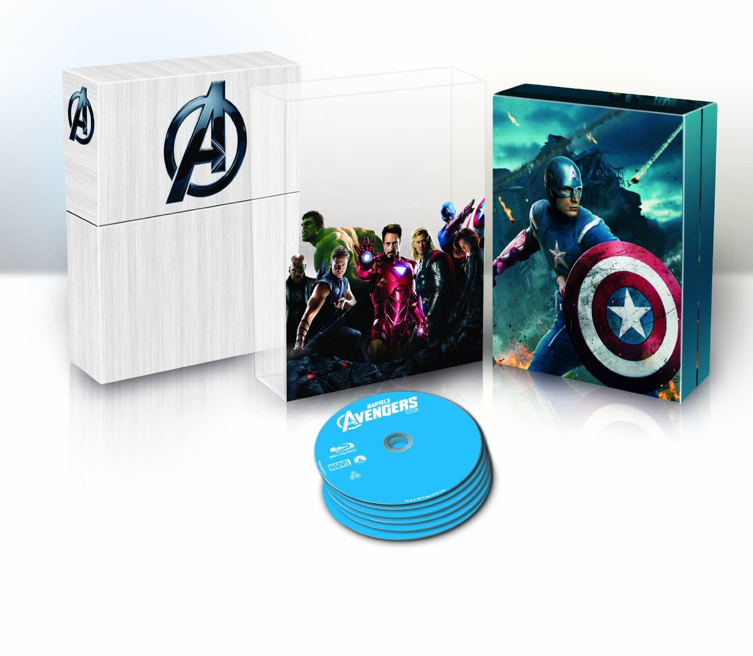 Marvel's the avengers collezione blu-ray