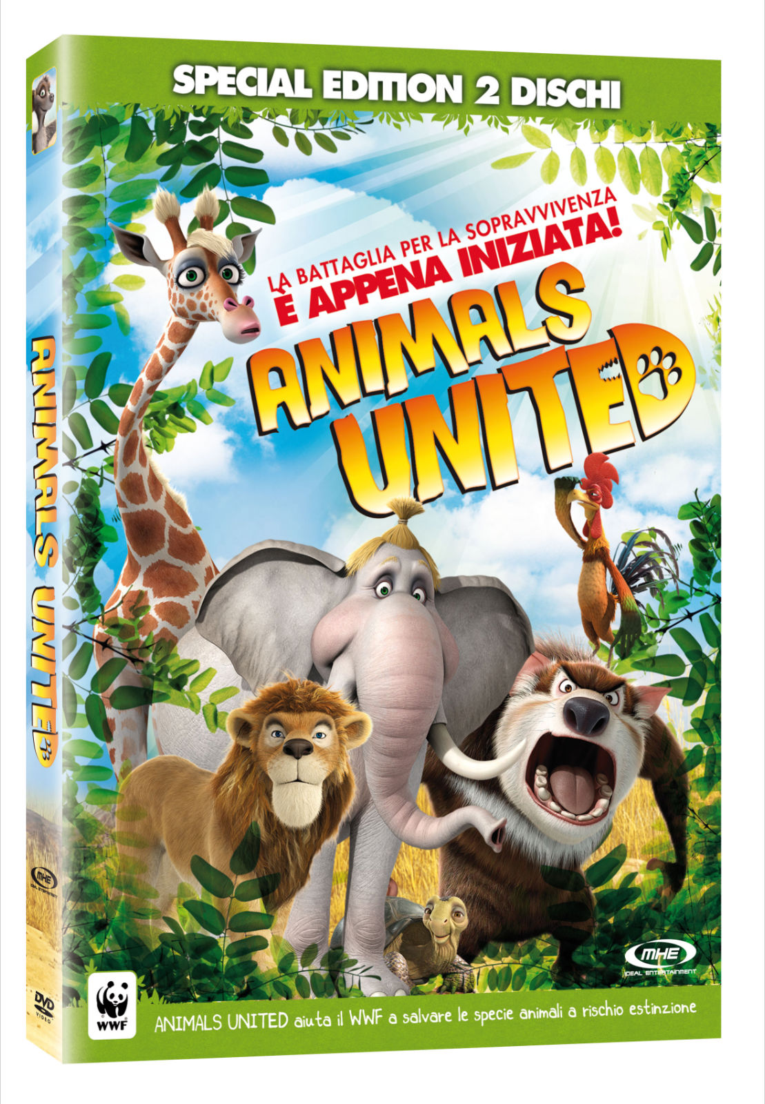 Animals United Copertina DVD Special Edition