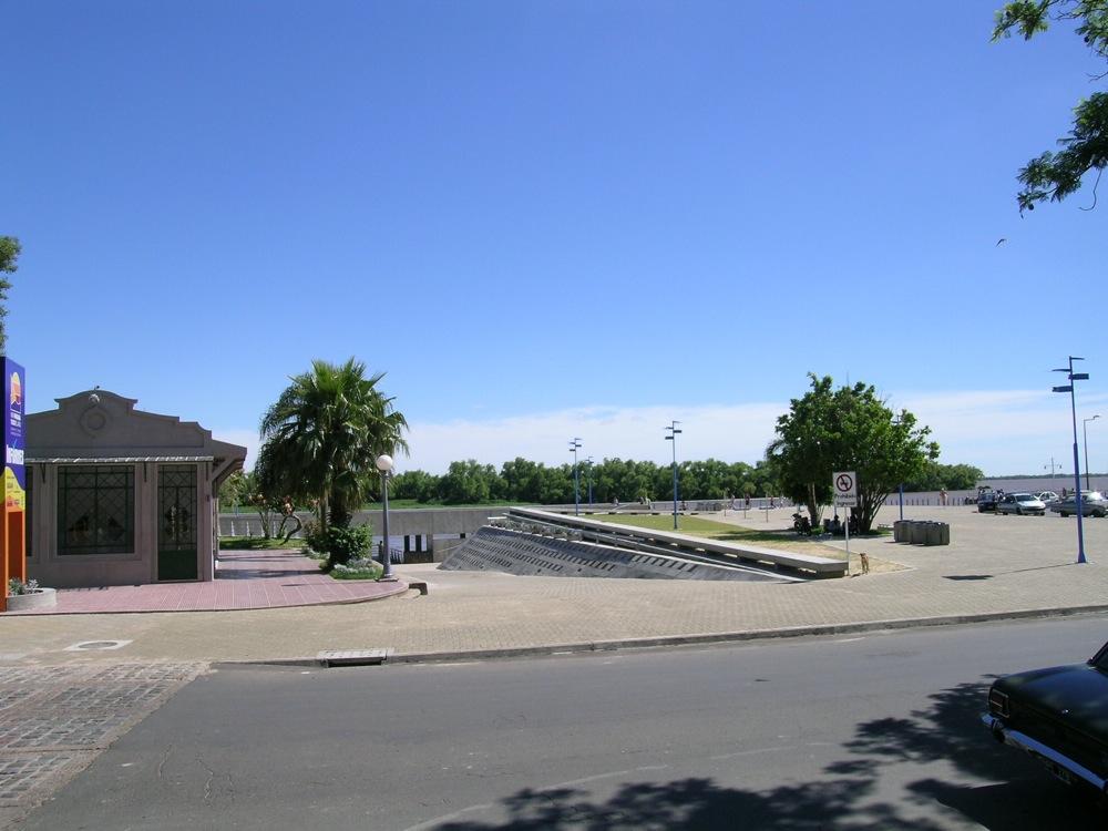 Arquitectura Paisajista, Costanera Ciudad de Paraná, Rubén Edgardo Cabrera, diseño