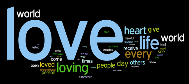 love affirmations wordle