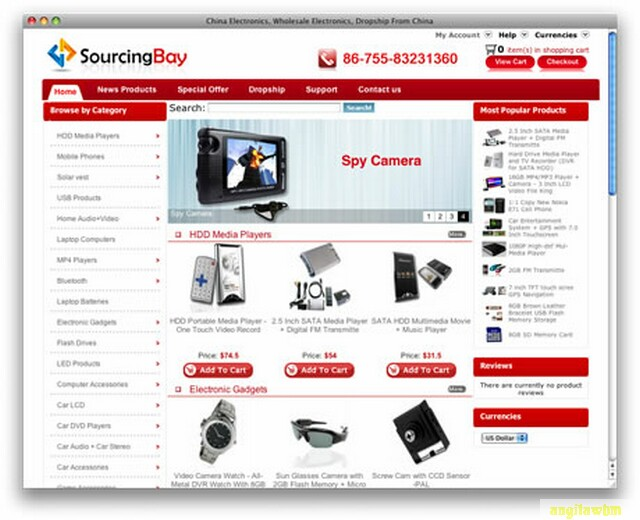 screen1 014 Páginas web para comprar barato en CHINA