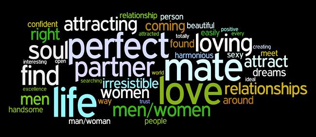 love relationships affirmations wordle